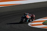 16th November 2019; Circuit Ricardo Tormo, Valencia, Spain; Valencia MotoGP, Qualifying Day; Fabio Quartararo (Petronas Yamaha)   - Editorial Use