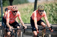 Greg Van Avermaet (BEL/CCC)<br /> <br /> 'La Primavera' (Spring) in summer!<br /> 111st Milano-Sanremo 2020 (1.UWT)<br /> 1 day race from Milano to Sanremo (305km)<br /> <br /> the postponed edition > exceptionally held in summer because of the Covid-19 pandemic calendar reshuffle