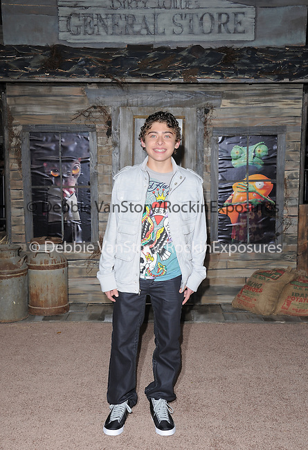 Ryan Ochoa attends The Paramount Pictures' L.A. Premiere of RANGO held at The Regency Village Theatre in Westwood, California on February 14,2011                                                                               © 2010 DVS / Hollywood Press Agency