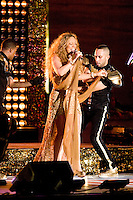 NEW YORK - September 5: Mariah Carey performs during the 2012 NFL Kick-Off Concert in Rockefeller Center on September 5, 2012 in New York City. (Photo by MPI81/MediaPunchInc) /NortePhoto.com<br />