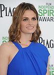 Stana Katic<br />  attends The 2014 Film Independent Spirit Awards held at Santa Monica Beach in Santa Monica, California on March 01,2014                                                                               © 2014 Hollywood Press Agency