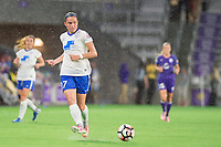 Orlando, FL - Saturday June 03, 2017: Amanda Frisbie during a regular season National Women's Soccer League (NWSL) match between the Orlando Pride and the Boston Breakers at Orlando City Stadium.