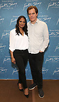 """Audra McDonald and Michael Shannon during the """"Frankie And Johnny In The Clair De Lune"""" Company Meet The Press  at the the New 42nd Street Studios on April 18, 2019 in New York City."""