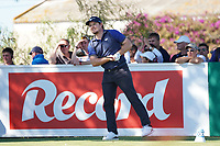 Eddie Pepperell (ENG) during Round 1 of the Portugal Masters, Dom Pedro Victoria Golf Course, Vilamoura, Vilamoura, Portugal, 24/10/2019<br /> Picture Andy Crook / Golffile.ie<br /> <br /> All photo usage must carry mandatory copyright credit (© Golffile | Andy Crook)
