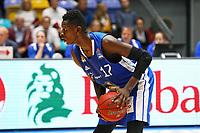 Isaac Bonga (Fraport Skyliners) - 11.10.2017: Fraport Skyliners vs. Basketball Löwen Braunschweig, Fraport Arena Frankfurt