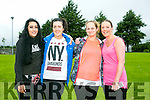 l-r  Orla Slattery, Maeve Foley, Sarah Flynn and Christine Lynch at the Jamie Wrenn Walk to Castlegregory in aid of Recovery Haven on Saturday