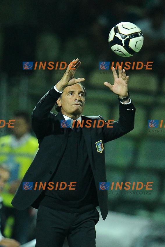 Cesare Prandelli, allenatore dell'Italia.11/09/2012 Modena.Football Calcio 2012 / 2013 .Qualificazioni Mondiali 2014.Italia vs Malta.Foto Insidefoto / Antonietta Baldassarre.