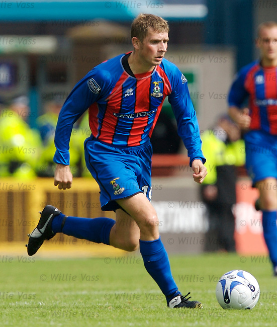Dennis Wyness, Inverness Caledonian Thistle.stock season 2006-2007.pic willie vass
