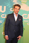 Riley Smith - Frequency - The CW Upfront - Red Carpet Arrivals on May 19, 2016 at t he London Hotel, New York City, New York. (Photo by Sue Coflin/Max Photos)