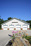 Brooks Volunteer Fire Department, Brooks, Maine, USA