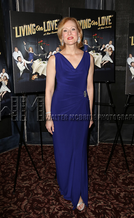 Donna English attends the Broadway Opening Night Performance After Party for 'Living on Love' at Sardi's on April 20, 2015 in New York City.