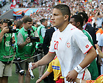 14 June 2006: Hamed Namouchi (TUN). Tunisia and Saudi Arabia tied 2-2 at the Allianz Arena in Munich, Germany in match 16, a Group H first round game, of the 2006 FIFA World Cup.