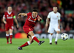 Trent Alexander Arnold of Liverpool takes a shot during the Champions League Semi Final 1st Leg match at Anfield Stadium, Liverpool. Picture date: 24th April 2018. Picture credit should read: Simon Bellis/Sportimage