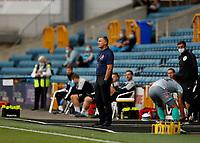 14th July 2020; The Den, Bermondsey, London, England; English Championship Football, Millwall Football Club versus Blackburn Rovers; Blackburn Rovers manager Tony Mowbray looks on from the touchline