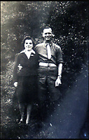 BNPS.co.uk (01202 558833)<br /> Pic: Bellmans/BNPS<br /> <br /> Cooke with his proud wife Doris.<br /> <br /> A fascinating trove of SAS records including some of the first photographs of the elite force which have never been seen before has been unearthed. <br /> <br /> The extensive assortment, also including medals and documents, was accumulated by war hero Lance Corporal William James Cooke at the end of World War Two. <br /> <br /> Remarkable images of Cooke's previously unrevealed wartime exploits show him serving behind enemy lines in occupied France and assisting with the liberation of Norway. <br /> <br /> His accomplishments have come to light after a family member presented the bequeathed collection to Hampshire-based auctioneer Bellmans, which will sell it tomorrow.