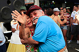 BRAZIL, Rio de Janiero, couples dance in the Marketplace, Feria de Sao