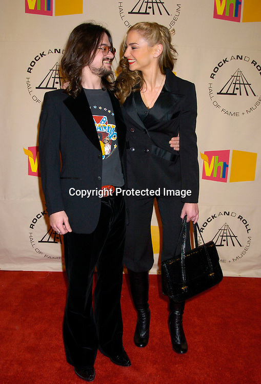 Drea de Matteo and Shooter Jennings..at the 2004 Rock and Roll Hall of Fame Award Ceremony on March 15, 2004 at the Waldorf Astoria Hotel in New York City. Photo by Robin Platzer, Twin Images