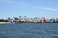 15 November 2005: Action at the Big Sail against the University of California Berkeley at the San Francisco Yacht Club in San Francisco, CA.