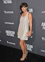 BEVERLY HILLS, CA. October 13, 2016: Moniqua Plante at the Los Angeles premiere of &quot;American Pastoral&quot; at The Academy's Samuel Goldwyn Theatre.<br /> Picture: Paul Smith/Featureflash/SilverHub 0208 004 5359/ 07711 972644 Editors@silverhubmedia.com