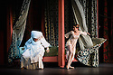 London, UK. 17.04.13. Canada's premier dance company The National Ballet of Canada returns to London after 26 years with its new production of Romeo and Juliet, which was created in 2011 to mark the company's 60th anniversary. Picture shows: Lorna Geddes (Nurse) and Heather Ogden (Juliet). Photograph © Jane Hobson.