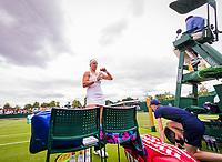 London, England, 4 th July, 2017, Tennis,  Wimbledon, Kiki Bertens (NED)<br /> Photo: Henk Koster/tennisimages.com