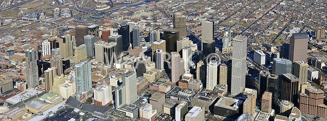 Downtown Denver panaroma. Feb 2013
