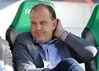 FUSSBALL   1. BUNDESLIGA   SAISON 2011/2012    8. SPIELTAG Hannover 96 - SV Werder Bremen                             02.10.2011 Manager Joerg SCHMADTKE (Hannover 96)