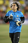 12 September 2007: Mexico's Guillermo Ochoa. The Brazil Men's National Team defeated the Mexico Men's National Team 3-1 at Gillette Stadium in Foxborough, Massachusetts in an international friendly.