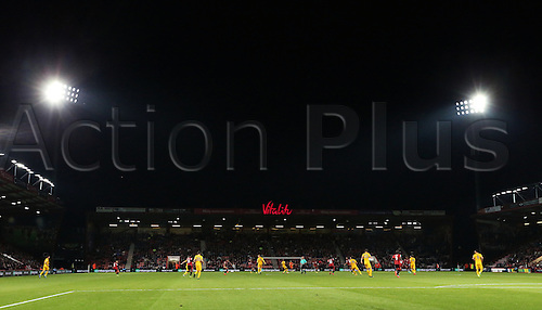 20.09.2016. Vitality Stadium, Bournemouth, England. Football League Cup Football. Bournemouth versus Preston. A general view of the match