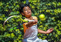 Hilversum, Netherlands, August 7, 2017, National Junior Championships, NJK, Samarth Sriram Gubbala <br /> Photo: Tennisimages/Henk Koster