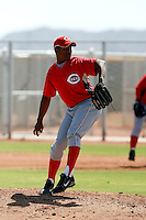 Carlos Contreras - Cincinnati Reds 2009 Instructional League. .Photo by:  Bill Mitchell/Four Seam Images..