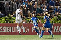 Boston, MA - Friday August 04, 2017: Yael Averbuch during a regular season National Women's Soccer League (NWSL) match between the Boston Breakers and FC Kansas City at Jordan Field.