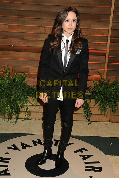 02 March 2014 - West Hollywood, California - Ellen Page. 2014 Vanity Fair Oscar Party following the 86th Academy Awards held at Sunset Plaza.  <br /> CAP/ADM/BP<br /> &copy;Byron Purvis/AdMedia/Capital Pictures