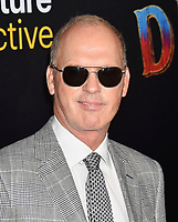 HOLLYWOOD, CA - MARCH 11: Michael Keaton  attends the premiere of Disney's 'Dumbo' at El Capitan Theatre on March 11, 2019 in Los Angeles, California.<br /> CAP/ROT/TM<br /> &copy;TM/ROT/Capital Pictures
