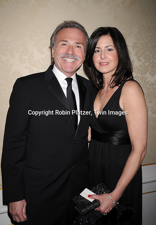 David Pecker and wife Karen..posing for photographers at The Museum of The Moving Image Gala honoring Matt Blank and James Schamus  on April 30, 2008 at The St Regis Hotel in New York City. ....Robin Platzer, Twin Images..