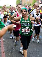 26 APR 2009 - LONDON,GBR - Bindi Karia - London Marathon. (PHOTO (C) NIGEL FARROW)