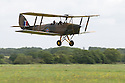 01/07/15<br /> <br /> Salute from Tiger Moth.<br /> <br /> *** FULL STORY HERE: <br /> http://www.fstoppress.com/articles/flying-for-heroes/  ***<br /> <br /> A special aircraft adapted to be flown by wounded, injured and sick servicemen took to the skies for the first time above Britain today.<br /> <br /> The two-seater para-trike is one of three similar aircraft operated by Flying For Heroes that are currently based at Darley Moor Airfield, Ashbourne, Derbyshire.<br /> <br /> Ten wounded servicemen took to the controls of this, and many other aircraft, during a two-day flying training camp hosted by Airways Airsports.<br /> <br /> *** FULL STORY HERE:  http://www.fstoppress.com/articles/flying-for-heroes/  ***<br /> <br /> All Rights Reserved: F Stop Press Ltd. +44(0)1335 418629   www.fstoppress.com.