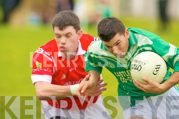 St Kieran's Tom McGoldrick and East Kerry John Sheehan.