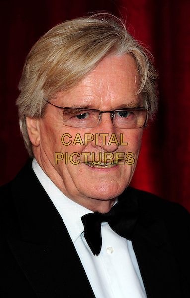 WILLIAM ROACH.British Soap Awards 2010 at the London ITV Studios, South Bank, London, England..May 8th 2010.arrivals headshot portrait black white bow tie glasses .CAP/CJ.©Chris Joseph/Capital Pictures.
