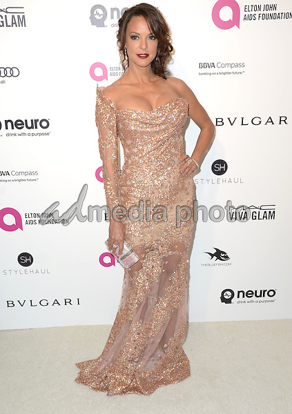 28 February 2016 - West Hollywood, California - Eva LaRue. 24th Annual Elton John Academy Awards Viewing Party sponsored by Bvlgari, MAC Cosmetics, Neuro Drinks and Diana Jenkins held at West Hollywood Park. Photo Credit: Birdie Thompson/AdMedia