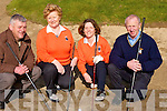 Captains Willie Barrett.President and capts for 2009 of Ballyheigue Golf Club at the Club on Sunday for their annual drive inn, l-r: Paddy O'Reilly (President), Anna Hill,(Presidents Lady), Eilish Delaney (Lady Capt) and Willie Barret (capt)......................