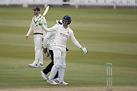 Keaton Jennings of Lancashire CCC acknowledges his half century during Middlesex CCC vs Lancashire CCC, Specsavers County Championship Division 2 Cricket at Lord's Cricket Ground on 12th April 2019