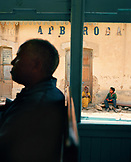 ERITREA, Arbaroba, the train passes through the train station in the town of Arbaroba between the mountain town of Asmara and the Port town of Massawa