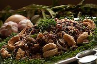 Diamantina_MG, Brasil...Tropeiro de feijao andu em Diamantina, Minas Gerais...Tropeiro with Andu bean, Its Mineira typical food in Diamantina, Minas Gerais...Foto: LEO DRUMOND / NITRO