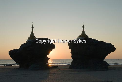 Ngwe Saung beach. Myanmar Burma 2011.