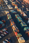 Shipping Containers, Seattle, Marine Trade, cargo, Aerial, Port of Seattle, Elliott Bay, Puget Sound, Washington State, Pacific Northwest, USA,.