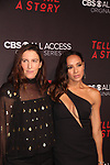 Liz Friedlander and Dania Ramirez at Premier of Tell Me A Story in which she stars - This is no fairy tale at Metrograph, NYC on October 23, 2018 which is a CBS - all Access original series - premieres on Halloween  (Photo by Sue Coflin/Max Photos)