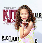 US actress Madison Pettis arrives at the world premiere of 'Kit Kittredge: An American Girl' at the Grove in Los Angeles, California on 14 June 2008. The film is based on the American Girl doll line and centers on Kit Kittredge, a young woman who grows up in the early years of the Great Depression.