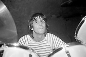 TRUST - Nicko McBrain performing live in London - Jun 1981.  Photo credit: Bascop/Dalle/IconicPix