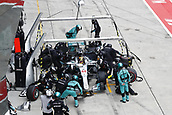 1st October 2017, Sepang, Malaysia;  FIA Formula One World Championship, Grand Prix of Malaysia, 44 Lewis Hamilton (GBR, Mercedes AMG Petronas F1 Team), Sepang Malaysia pit stop